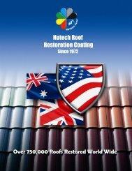 Tile Roof Restoration - Nutech Paint