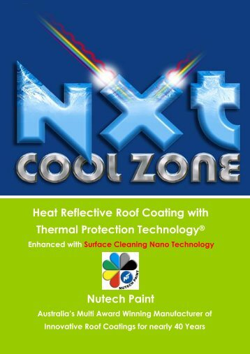 Heat Reflective Roof Coating with Thermal ... - Nutech Paints