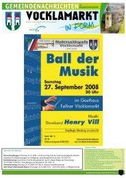 Gemeindezeitung Oktober 2008 (1,39 MB) - Marktgemeinde ...