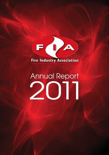 Annual Report - Fire Industry Association - UK.com