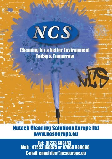 here! - Nutech Cleaning Solutions (Europe) LTD
