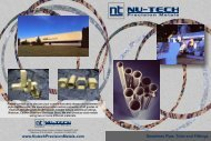 View our Pipe Brochure - 1.3 Mb - Nu-Tech Precision Metals
