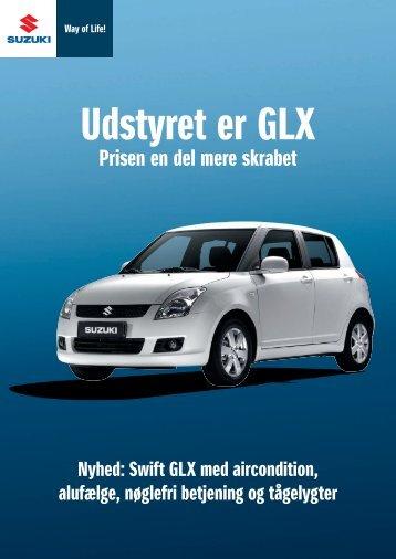 Udstyret er GLX - Suzuki.dk