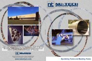 Sputtering Tubes and Backing Tubes Brochure - Nu-Tech Precision ...
