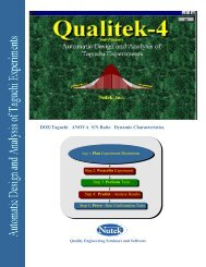 Review Qualitek-4 Brochure - Quality Engineering Seminar and ...