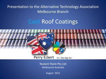 Cool Roof Coatings - Alternative Technology Association