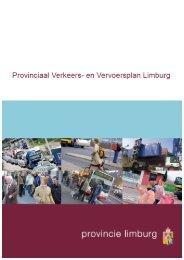 Provinciaal Verkeer en Vervoersplan Limburg - Rovl