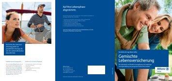 Gemischte Lebensversicherung - Allianz Suisse