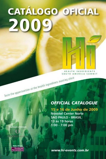 Catálogo Oficial completo - Revista FiB