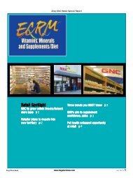 ECRM Vitamins, Minerals and Supplements/Diet - Drug Store News