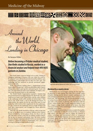 Medicine on the Midway: Fall 2009 - University of Chicago Hospitals
