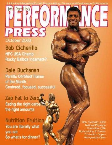 Bob Cicherillo Dale Buchanan Zap Fat to Zero Nutrition Fruition