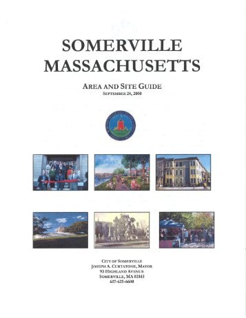 SOMERVILLE MASSACHUSETTS - City of Somerville