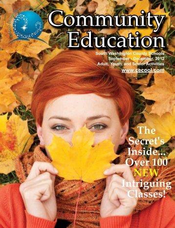 September -‐ December 2012 Washington County Library