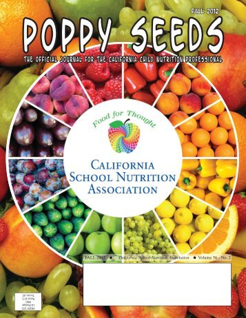 Download the latest issue - California School Nutrition Association