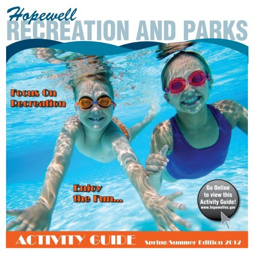 RecReation and PaRks - City of Hopewell