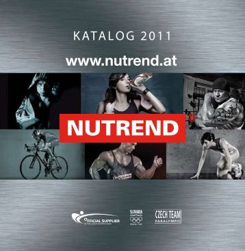 NUTREND Katalog 2011 - NUTREND Shop | Perfect Fitness GmbH.