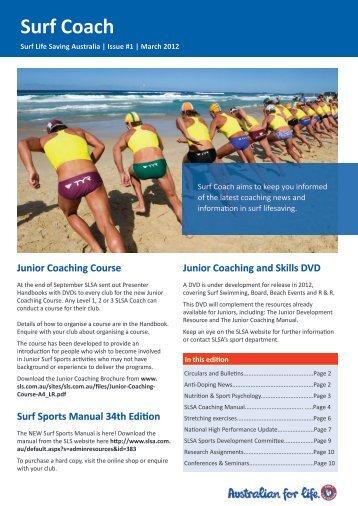 Surf Coach - Surf Life Saving Australia