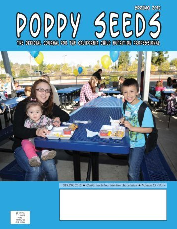 Spring 2012(A).indd - California School Nutrition Association