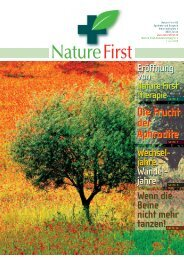 Nature First Kundenzeitung No.4 - bei Praxis Natur