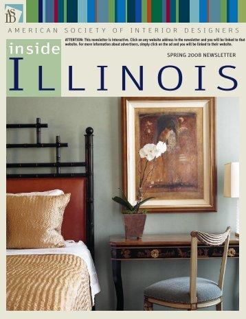 Spring 2008 - American Society of Interior Designers, Illinois Chapter