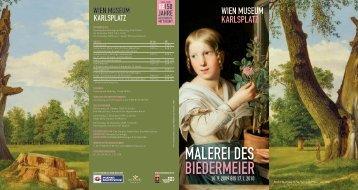 MALEREI DES BIEDERMEIER - Wien Museum