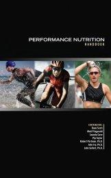 Performance Nutrition Handbook - Triathlete Europe