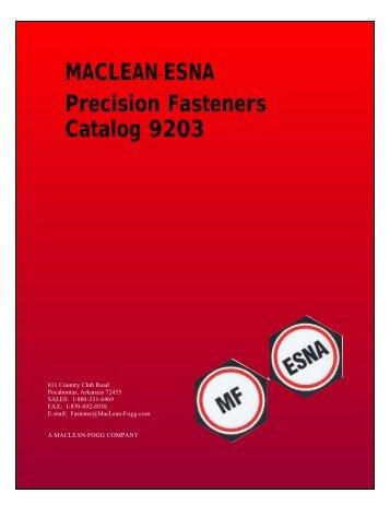catalog 9203-1 - MacLean Fogg Component Solutions