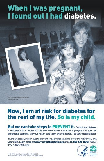 Family History: Gestational Diabetes - Posters