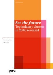 See the future - PwC
