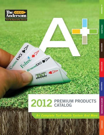 2012PREMIUM PRODUCTS CATALOG - Andersons Golf Products