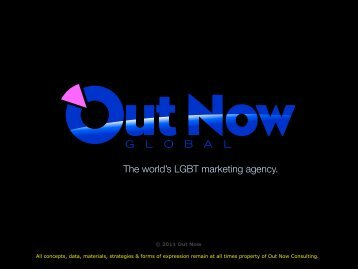The world's LGBT marketing agency. - Out Now Consulting