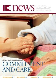 COMMITMENT AND CArE - IK Investment Partners