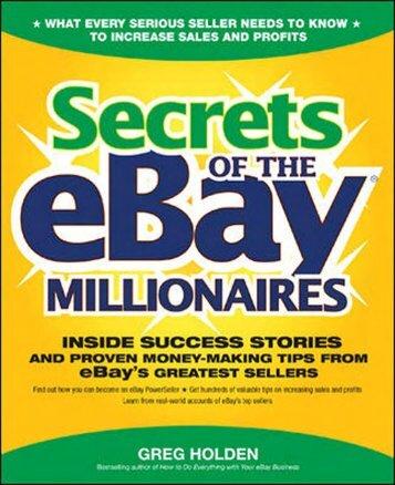 Secrets of the eBay
