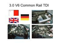 3.0 V6 Common Rail TDI