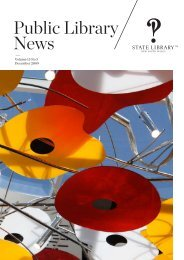 Public Library News Vol 15 No 3 - State Library of New South Wales ...
