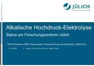 Alkalische Hochdruck-Elektrolyse - now-gmbh.de