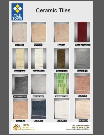 Tile Town Ceramic tiles - Kitchen Fit Sandiacre
