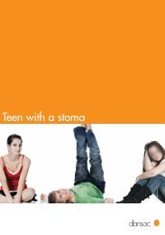 Teen with a stoma - Dansac