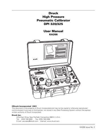 Druck DPI 530 Sub-Rack Pneumatic Pressure Controller