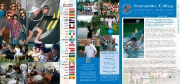 13527 IC Sherborne School - Summer Newsletters - International ...
