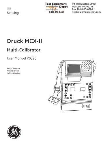 Druck MCX-II Multi-Calibrator