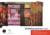 diabetes action now - World Health Organization