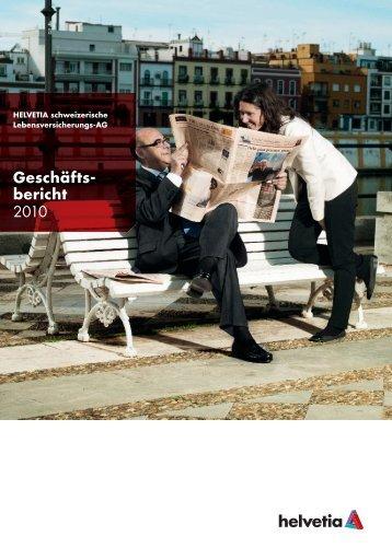 Geschäftsbericht Helvetia Leben 2010