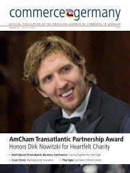 AmCham Transatlantic Partnership Award Honors Dirk Nowitzki for ...