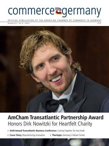 AmCham Transatlantic Partnership Award Honors Dirk Nowitzki for ...