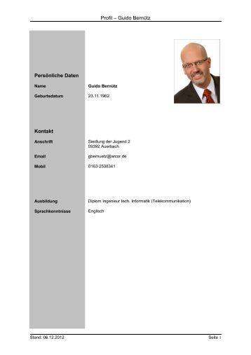 profil deutsch guido berntz softwareentwicklung it beratung