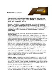 """""""Homecoming"""" für Nowitzki mit den Mavericks: Das Spiel ... - Sport1"""