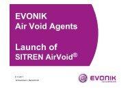 SITREN AirVoid 353 354 - Construction Chemicals