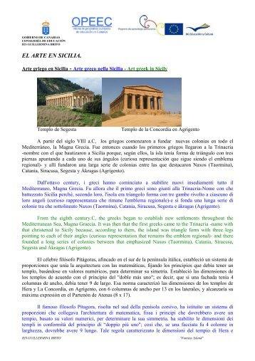EL ARTE EN SICILIA - IES Guillermina Brito